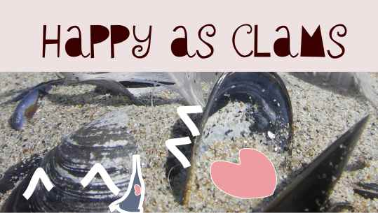 happy as clams